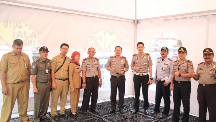Kapolres Kota Tangerang Cek Pos PAM Operasi Ramadaniya Kaliamya 2016