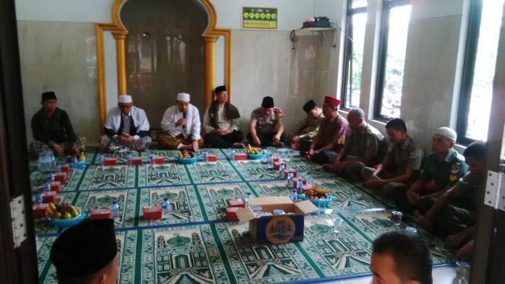PERINGATAN MAULID NABI MUHAMMAD SAW DI POLSEK TIGARAKSA : Ketua MUI Kabupaten Tangerang Dan Muspika Hadir