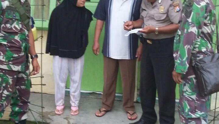 SINERGITAS TNI DAN POLRI : Binmas Dan Babinsa Gelar Patroli Bersama