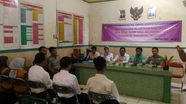 Pilkades Kabupaten Tangerang : Kapolsek Mauk Harap Panitia Bersikap Netral