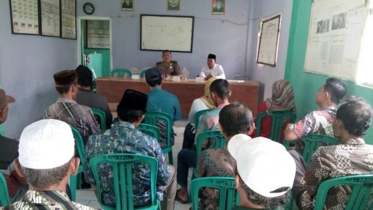 Jelang Pilkades di Kabupaten Tangerang, Sat Binmas Gelar Penyuluhan Harkamtibmas