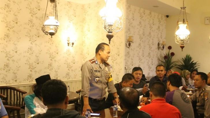 Kapolres Kota Tangerang Buka Puasa Bersama Wartawan  Se-Kabupaten Tangerang
