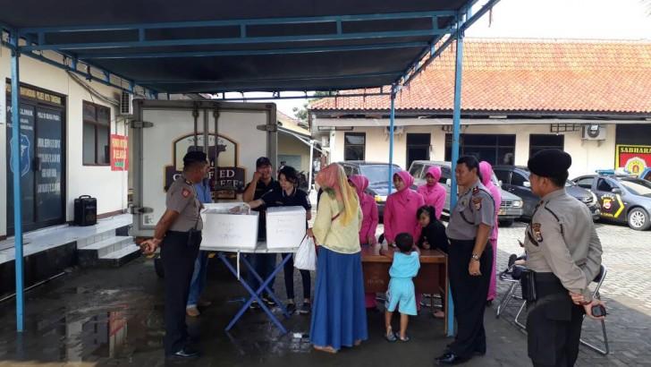 Polres Kota Tangerang Gelar Operasi Pasar Bulan Ramadhan