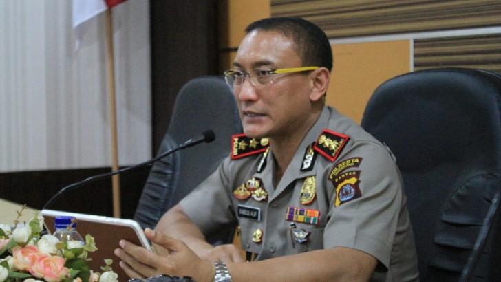 Hari Pertama Kerja, Kapolres Kota Tangerang Ajak Anggota Perangi Narkoba