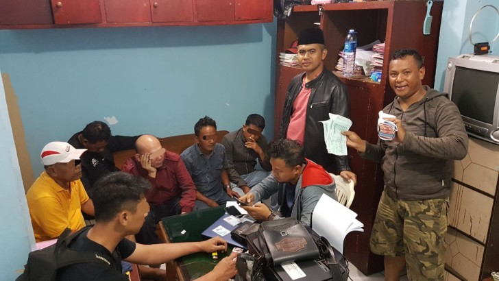 Polresta Tangerang Ciduk Pelaku Judi Pilkades