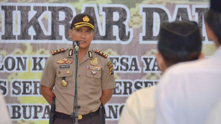 Pilkades di Tangerang, Kapolres Imbau Jangan Membuat Provokasi