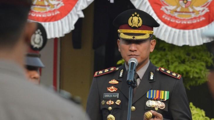 Upacara Bendera Memperingati HUT Kemerdekaan RI ke-72 di Polresta Tangerang