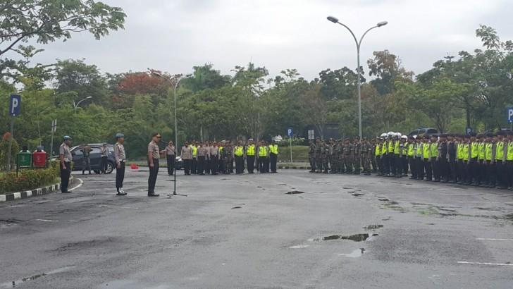 Ratusan Personel Gabungan Amankan Aksi Demo Buruh