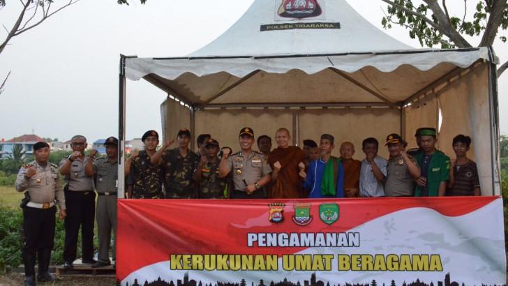 Polresta Tangerang Dirikan Posko Pengamanan Kerukunan Umat Beragama