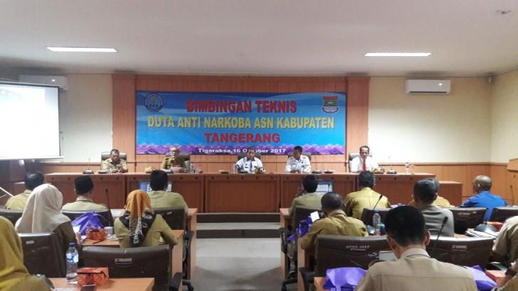 Polresta Tangerang Ajak Duta Anti Narkoba Cegah Peredaran Narkotika di Kabupaten Tangerang