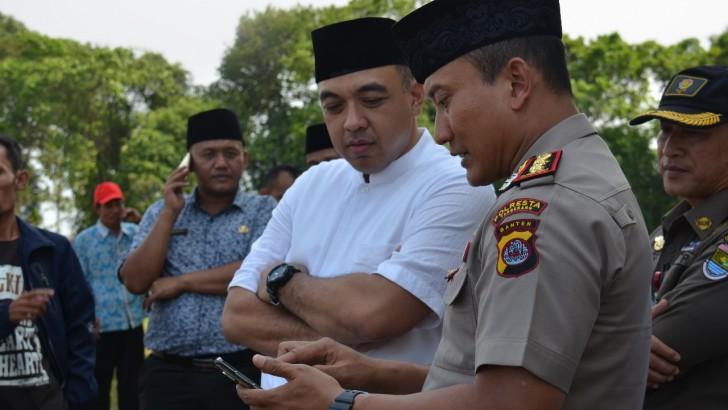 SMS Broadcast, Cara Polresta Tangerang Ingatkan Warga Jaga Keamanan
