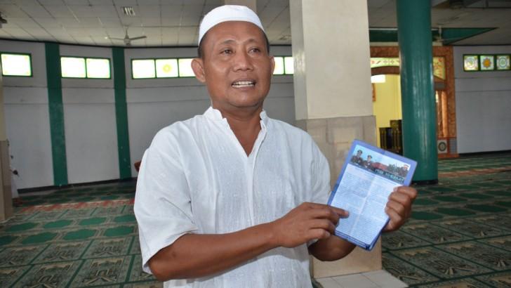 Kalangan Mesjid Apresiasi Buletin Pos Khidmat Polresta Tangerang