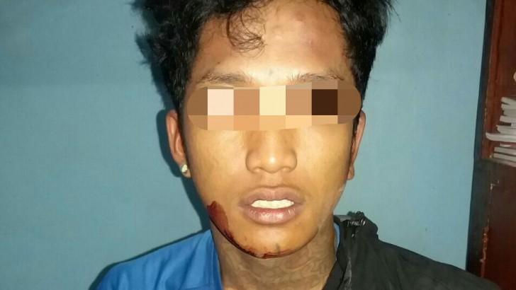 Usai Kroyok Remaja, Beo Ngandang di Polsek Mauk