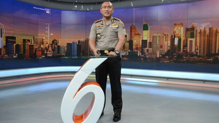 Kapolresta Tangerang Ditantang Jadi News Anchor