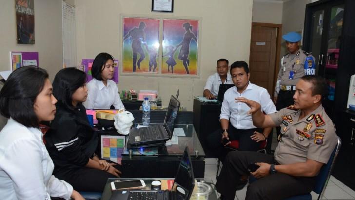 Polresta Tangerang Bentuk Tim Cyber Buru Pengunggah Vide