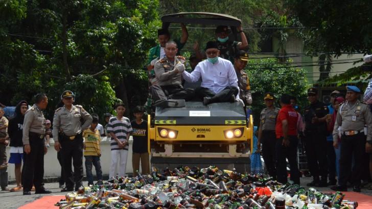 Polresta Tangerang Berasama Ulama Komitmen Berantas Penyakit Masyarakat