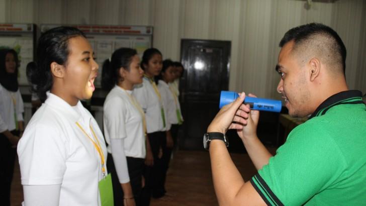 Begini Binlat Calon Anggota Polri di Polresta Tangerang