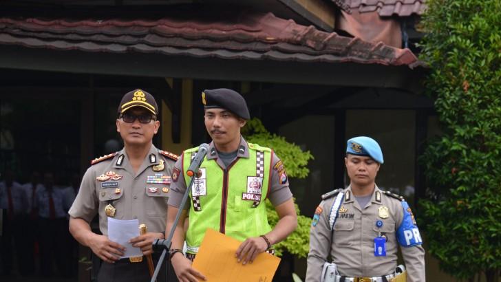 Bripda Tesan Anggota Sat Sabhara Polresta Tangerang Berhasil Menggagalkan Aksi Curanmor