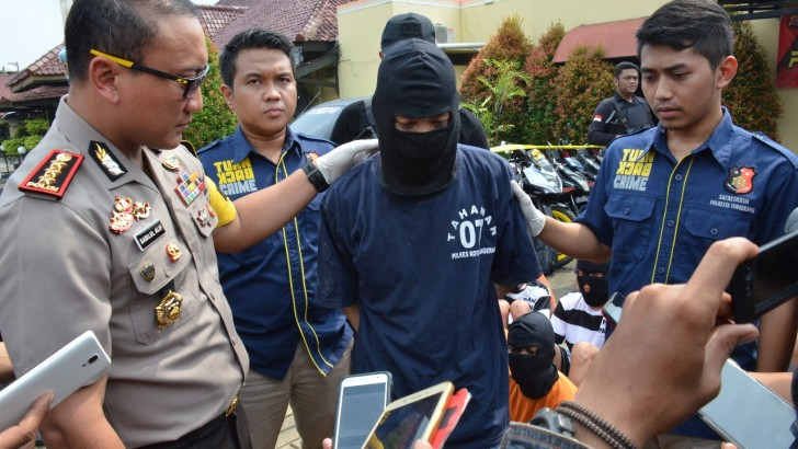 Polresta Tangerang Dor Perampok Emas 2 Kilogram