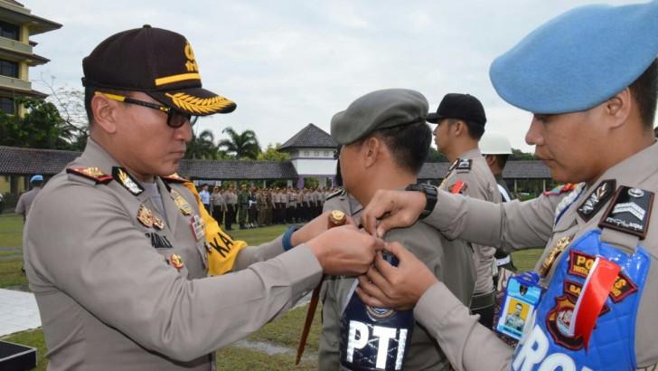 Amankan Pilkada, Polresta Tangerang Terjunkan Ribuan Personel Gabungan