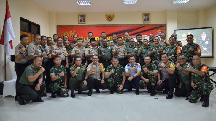 Silahtuhrami TNI POLRI di Mako Polres Kota Tangerang