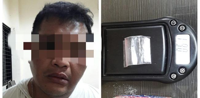 Unit Reskrim Polresta Tangerang Amankan Satu Pelaku Narkoba