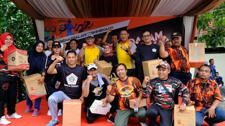 Polresta Tangerang Gelar Senam Kebhinekaan