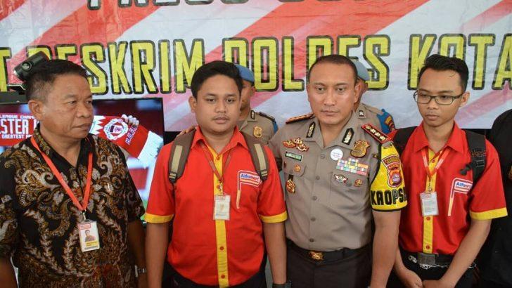 Dua Spesialis Rampok Minimarket Lintas Provinsi Diringkus Polresta Tangerang