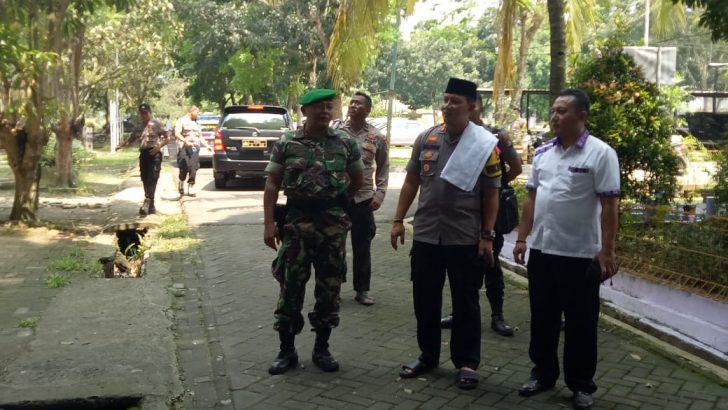 Jelang Sidang Pleno Terbuka Jambe, Wakapolresta Tangerang Turun Cek Situasi