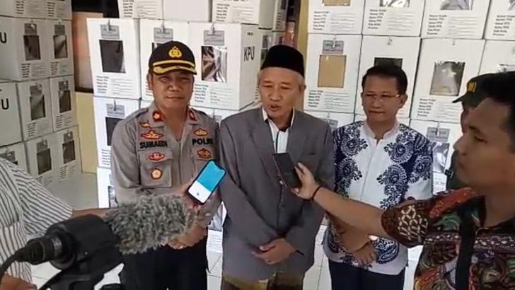 Ketua MUI Kec. Cikupa Menilai Pemilu 2019 di Tangerang Aman dan Kondusif