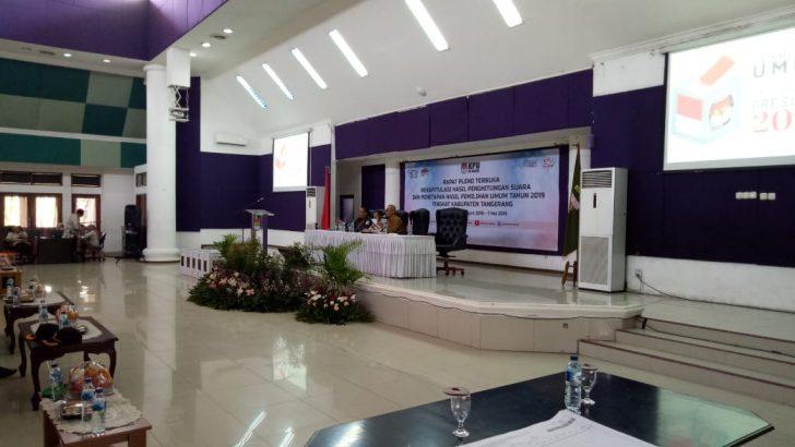 Sinergitas TNI-Polri Amankan Rapat Pleno Pemilu 2019 di Kabupaten Tangerang