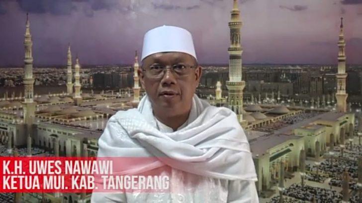 Ketua MUI Kab. Tangerang Menolak Tegas Gerakan People Power