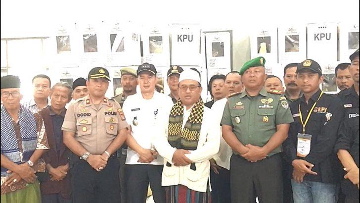 Pengamanan Pemilu Berjalan Lancar, Tokoh Masyarakat di Tigaraksa Apresiasi Kinerja TNI-Polri