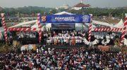 Puluhan Ribu Orang Hadiri Deklarasi Damai Kebhinekaan Polda Banten