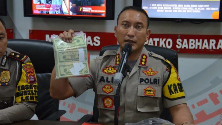 Polresta Tangerang Ringkus Pengedar Uang Palsu