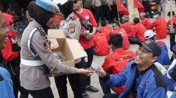 Unjuk Rasa Buruh, Polresta Tangerang Terapkan Skema Pengamanan Berpelayanan