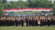 Hari Pertama Kampanye Pilkades, 1 Desa Dijaga 17 Polisi, Personel Dilarang Bawa Senpi
