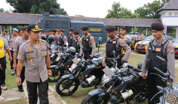 Apel Kendaraan Dinas Polresta Tangerang