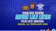 Laporan Visualisasi Harian Pelaksanaan Tugas Satlantas Polresta Tangerang
