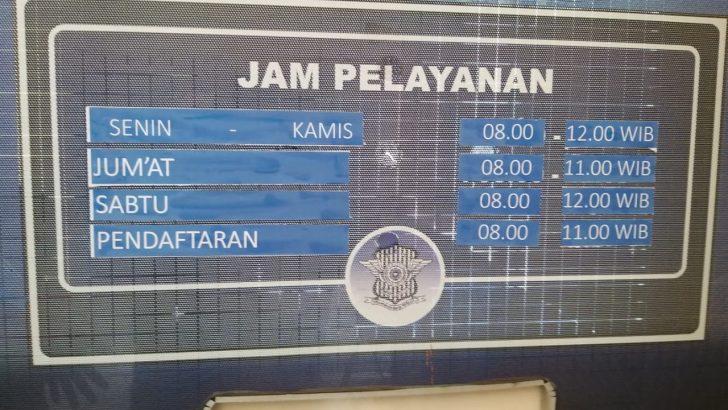 Jam Pelayanan SIM Satlantas Polresta Tangerang