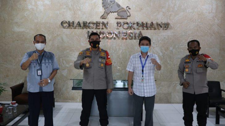 Kunjungi PT. CPI, Kapolresta Tangerang Gelorakan Perusahaan Tangguh