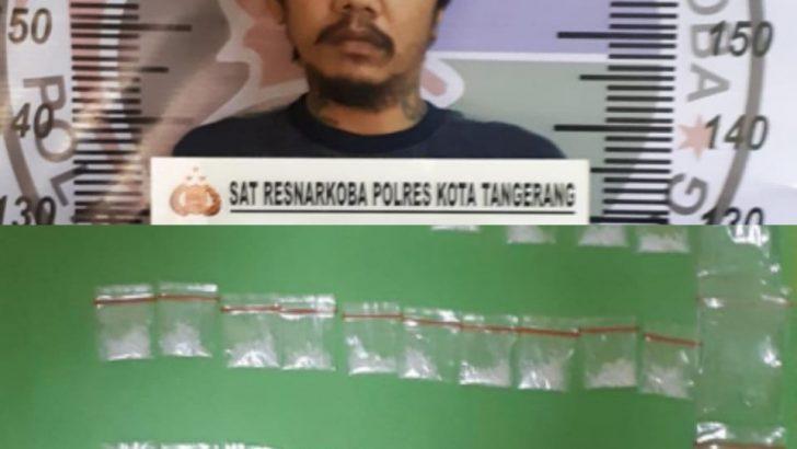 Milik Sabu 15 Gram, Kolut Diringkus Polresta Tangerang