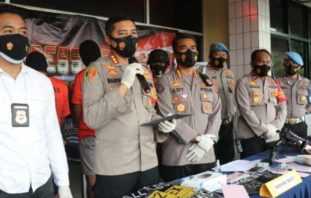 Polsek Balaraja Polresta Tangerang Ringkus Sindikat Pencurian Mobil back terbuka, Tidak sampai 24 jam