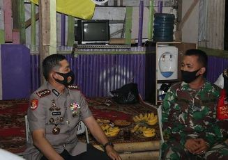 Malam Hari Pertama Bertugas, Kapolresta Tangerang Langsung Terjun Malam Cek Keamanan Warga