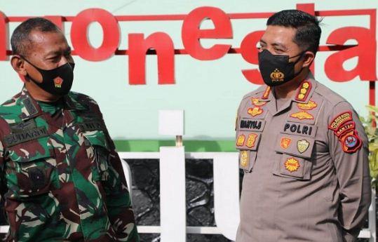 Kapolresta Tangerang Sowan ke Markas Kodim Tigaraksa