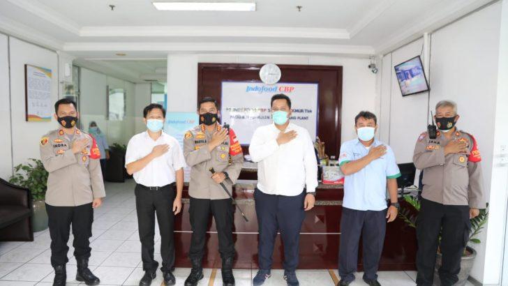 Kapolresta Tangerang Sambangi PT. Indofood CBP, Dorong Disiplin Prokes untuk Percepatan Pertumbuhan Ekonomi Nasional