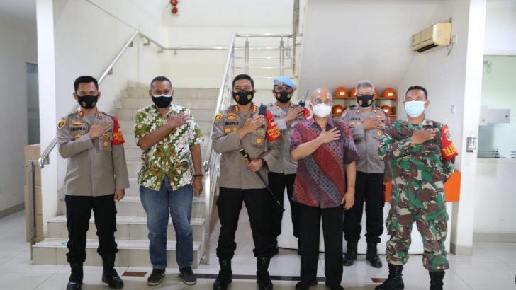 Tinjau Pelaksanakan Protokol kesehatan, Kapolresta Tangerang Kunjungi PT. Japfa