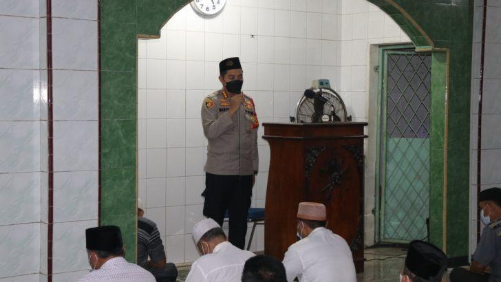 Laksanakan Program Kapolda Subuh Keliling, Kapolresta Tangerang Imbau Masyarakat Tidak Mudik