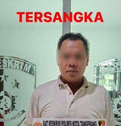 Gelapkan Uang Penjualan Sapi Hingga Ratusan Juta, Seorang Pria Ditangkap Polresta Tangerang