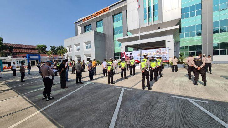 Bina Kedisiplinan, Polresta Tangerang Rutinkan Apel Kompi Siaga